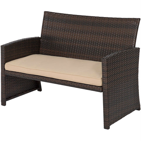 Image of 3-Piece Sienna Solid Wood Patio Set