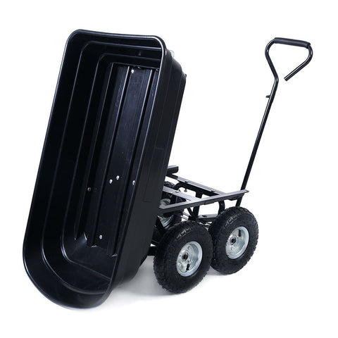 Image of Black Wagon Heavy Duty Dump Cart Dumper