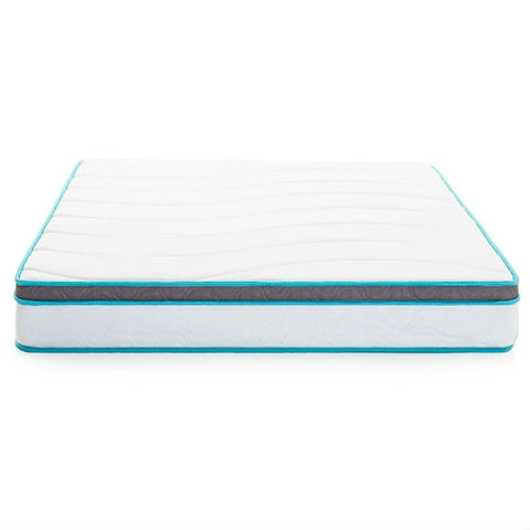 Image of California King size 8-inch Memory Foam Innerspring Mattress