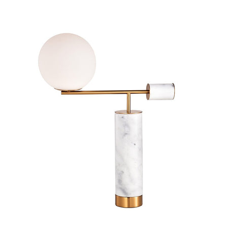 Marble Balance Design Table Lamp