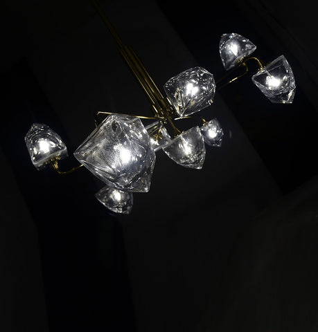Image of Peach Chandelier