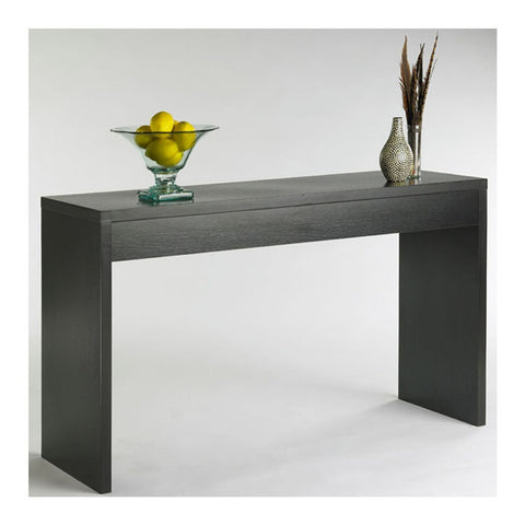 Image of Contemporary Living Room Console Wall / Sofa Table in Espresso