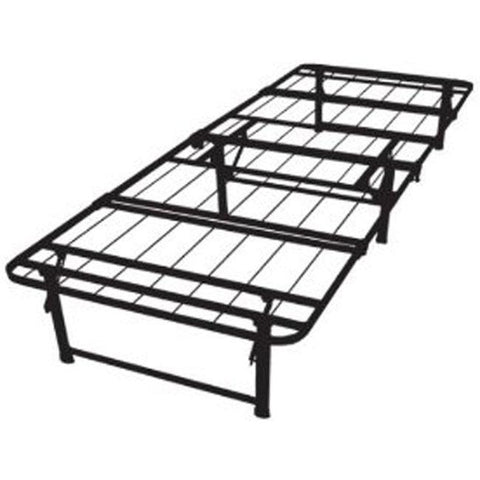 Image of Twin XL-size Steel Folding Metal Platform Bed Frame
