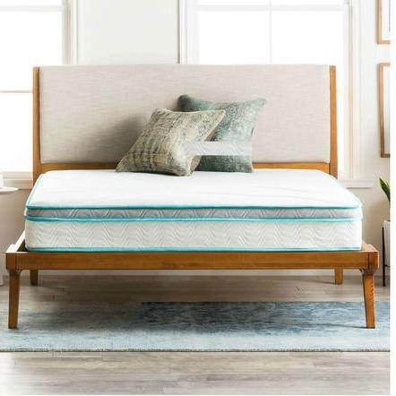 Image of Full size 8-inch Memory Foam Innerspring Mattress