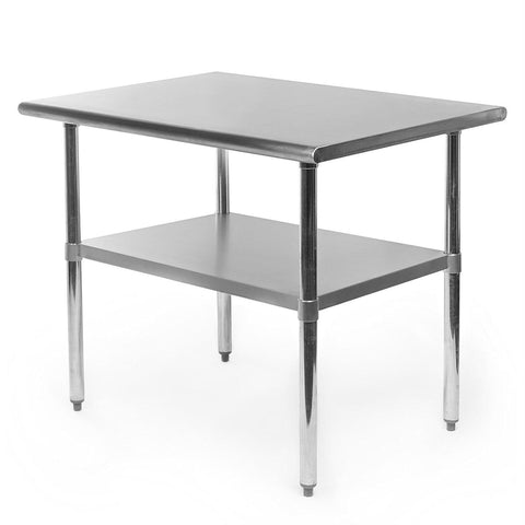 Image of Heavy Duty Stainless Steel 2 x 3 Ft Kitchen Kitchen Prep Table