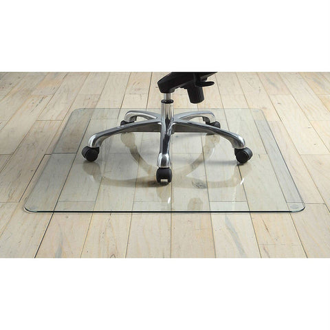 Image of Heavy Duty 50 Inch Tempered Glass Chair Mat