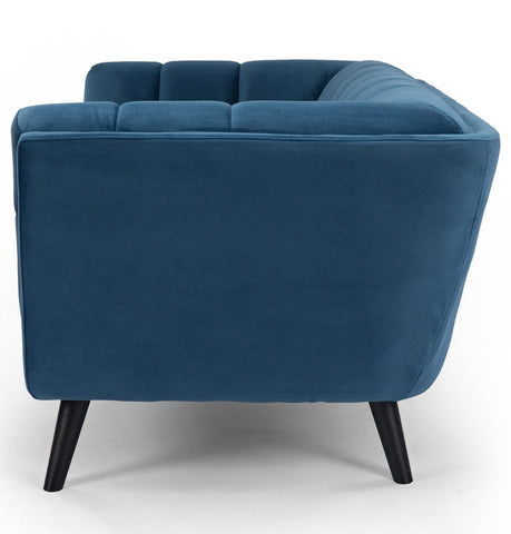 Image of Lucas 2-Seater Sofa - Blue Velvet