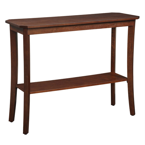 Image of Mahogany 2 Tier Console Table