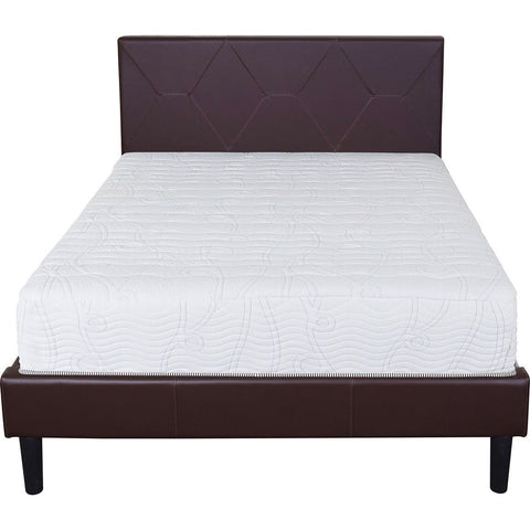 Image of Twin size Innerspring Mattress with Cool Gel Memory Foam Layer