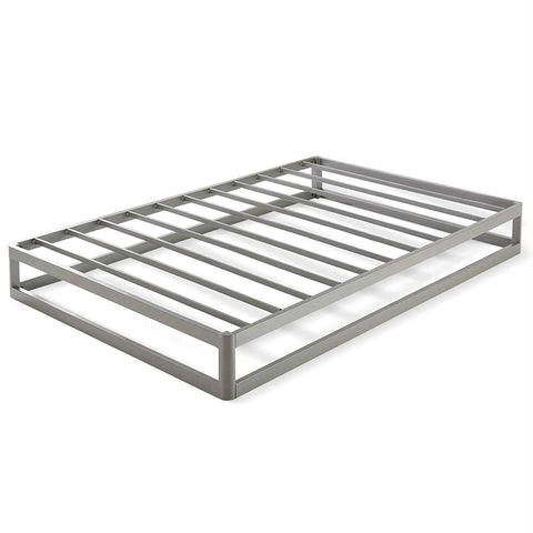 Image of Twin size Modern Heavy Duty Low Profile Metal Platform Bed Frame