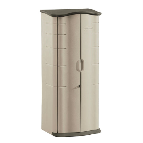 Image of Heavy Duty Vertical Outdoor Cabinet Weather Resistant Storage Shed