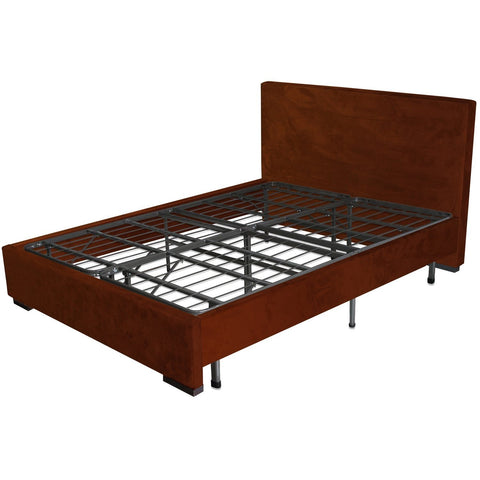 Image of Twin Extra Long Metal Platform Bed Frame with Storage Space