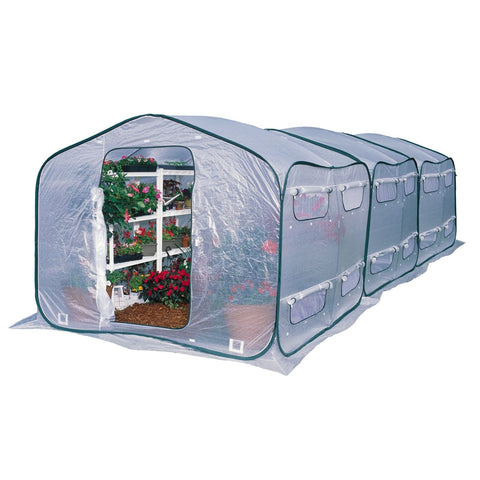 Image of Farm-House 9-ft Home Garden UV Resistant Greenhouse