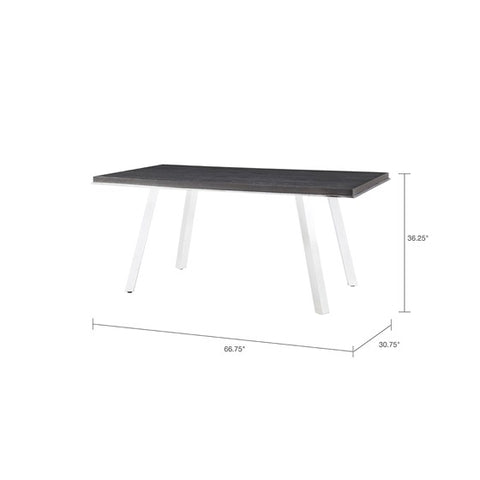 Image of Obsidian Dark Grey Gathering Table