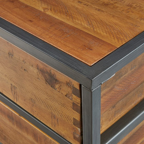 Hudson 2 Drawer Natural Accent Chest