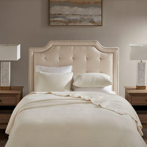 Image of King Size Doris Cream Headboard (Almost Gone)