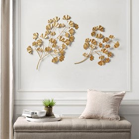 Clio Gold Foil Ginkgo Leaf Set