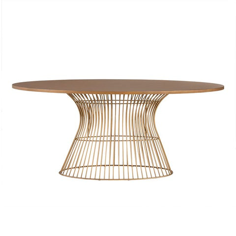 Image of Mercer Oval Dining Table