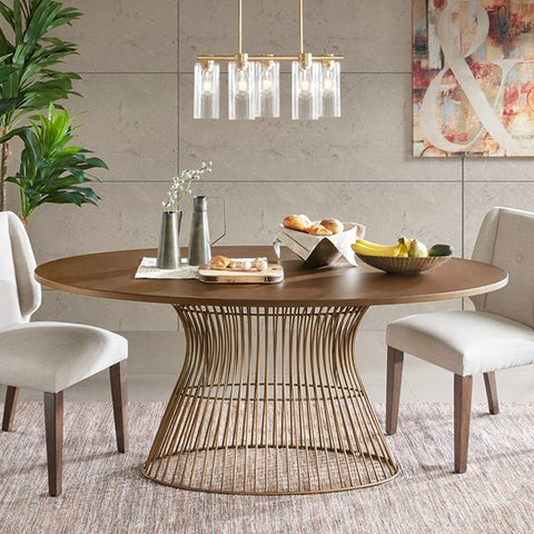 Mercer Oval Dining Table