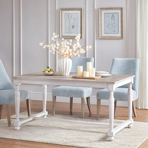 Image of Winfield Natural Cream Dining Table (Almost Gone)
