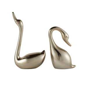 Swan Decorative Object Set of 2