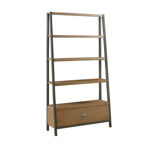 Seymore Brown Bronze Bookcase