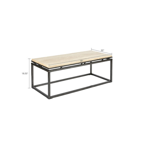 Koy Cream Coffee Table
