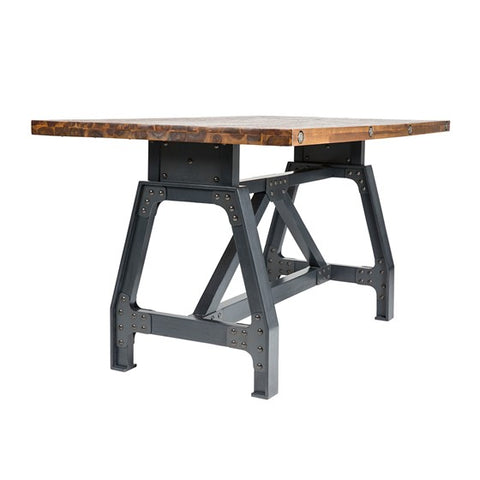 Image of Lancaster Natural Grey Dining Gathering Table (Almost Gone)
