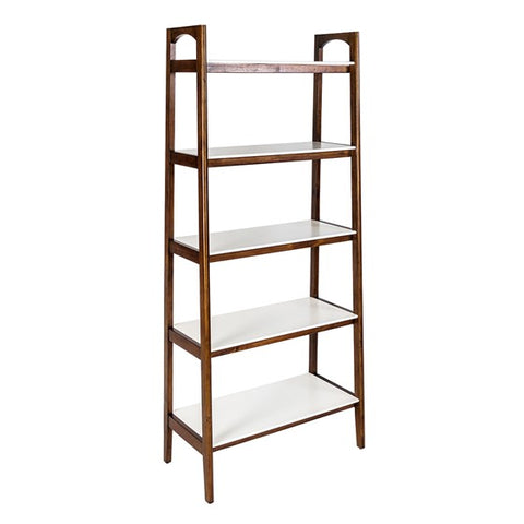 Image of Parker Cream White Bookcase (Almost Gone)