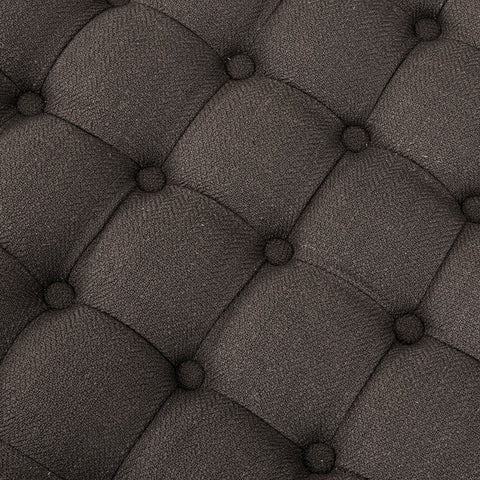 Image of Derek Charcoal Storage Ottoman