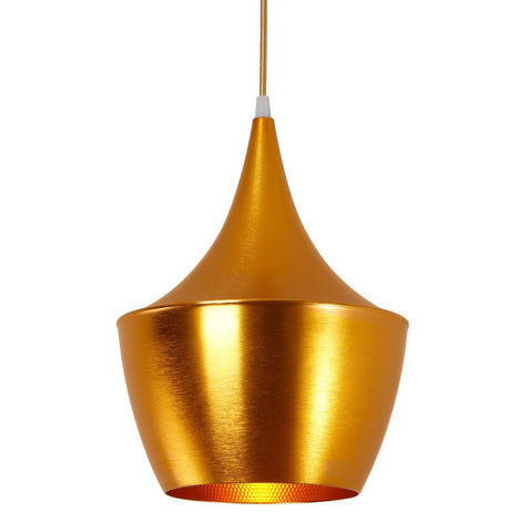 Image of Beat Shade Fat Pendant Lamp - Gold - Reproduction
