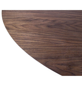 Tulip Dining Table - Round - Walnut/White Oak/Ash Top - Reproduction