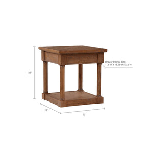 Georgetown Wooden End Table