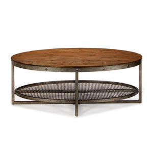Sheridan Chestnut Oval coffee Table (Almost Gone)