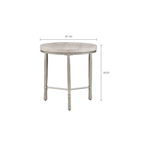 Image of Reese Marble End Table (Almost Gone)