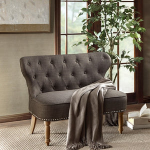 Stanford Settee Charcoal