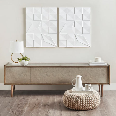 Geo Tempo Carved Wall Panel Set (ETA 11/05/2020)