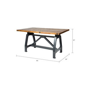 Lancaster Natural Grey Dining Gathering Table (Almost Gone)