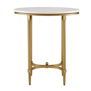 Bordeaux Marble End Table