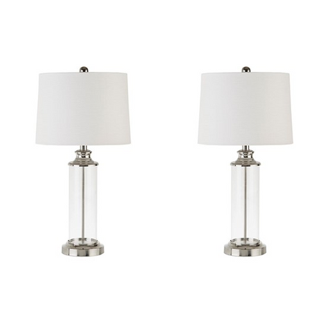 Clarity Table Lamp set of 2
