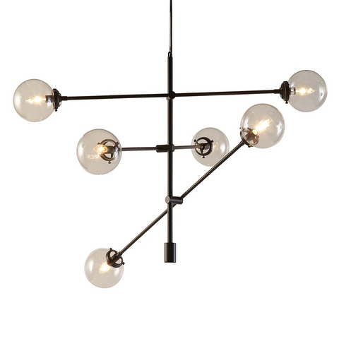 Image of Cyrus 6 Bulb Chandelier