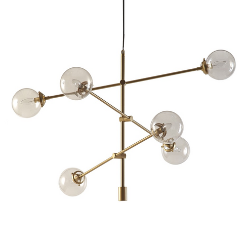 Image of Cyrus Gold Chandelier
