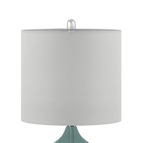 Image of Ellipse Blue Table Lamp Set Of 2