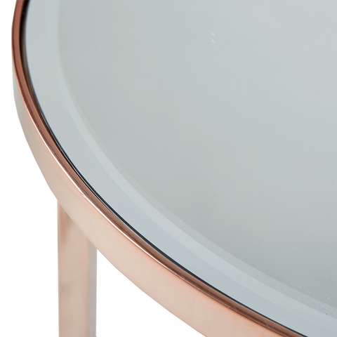 Image of Triton Rose Gold Console Table (Almost Gone)