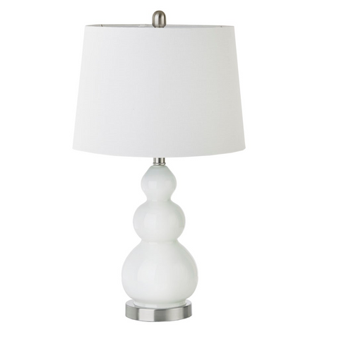 Image of Covey White Table Lamp set of 2