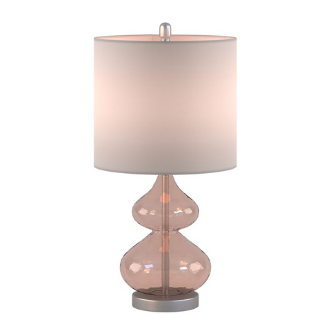 Ellipse Pink Table Lamp Set Of 2