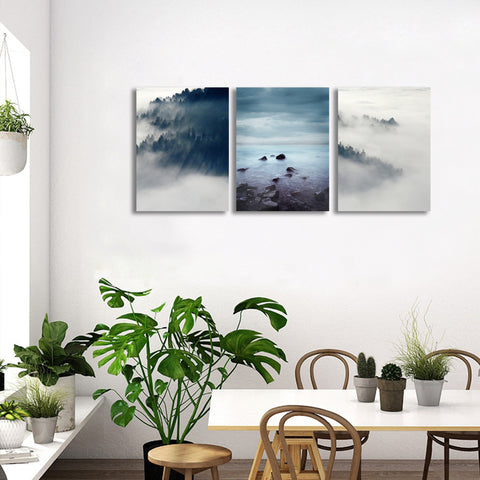 Foggy Forest Wall Art