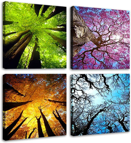 Four Seasons Landscape Wall Art
