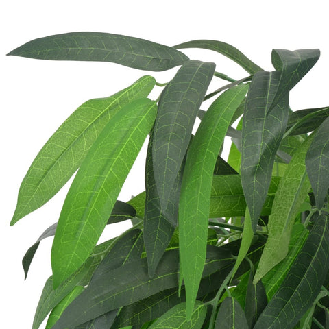 Image of Artificial Plant Mango Tree with Pot Green 55.1""