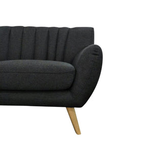 Lilly 2-Seater Sofa - Dark Grey